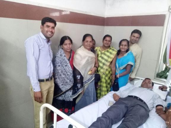 Jaya at Hospital