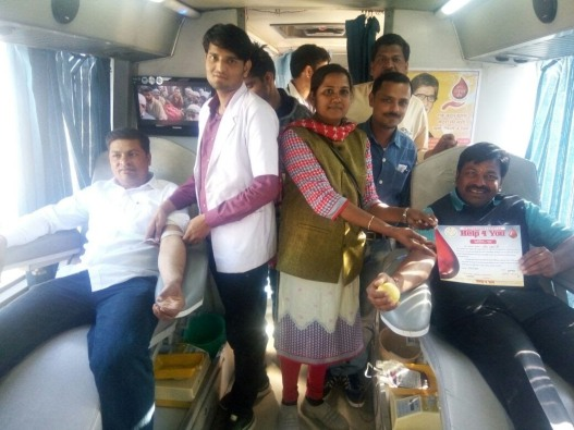Jaya Working wih one NGO